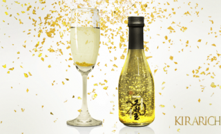 金箔増し増し!通常の20倍もの金箔が入ったキラキラ日本酒「純米大吟醸酒 KIRARICH」が登場