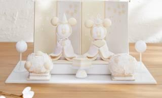 40個限定!京都の職人さんが手作りするちりめんお雛様「ミッキー&ミニー」が新発売!