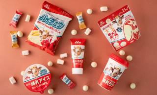 甘みに溺れたい♡甘党さん歓喜!森永練乳を使用したバラエティ豊かな4商品が同時発売
