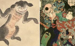「おいてけぼり」「鼻が高い」などなど、普通に使われている言葉の中に潜む妖怪たち