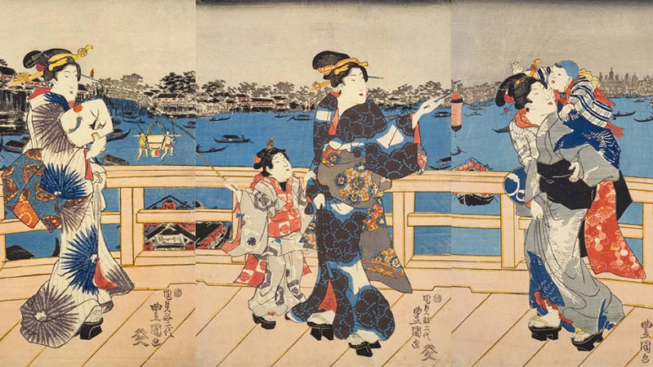 日本橋、遊郭、長屋…浮世絵で見る、江戸時代を生きる人々のタイムスケジュールはどうなっていた?【午後5時から午後7時頃】
