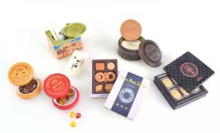 長く愛され続けるあの伝統銘菓たちがミニチュアサイズでフィギュア化「銘菓 miniature collection」