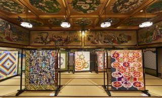 """日本独自の感性や素材で昇華した""""和キルト""""の世界を堪能「和キルト×百段階段2020」開催"""