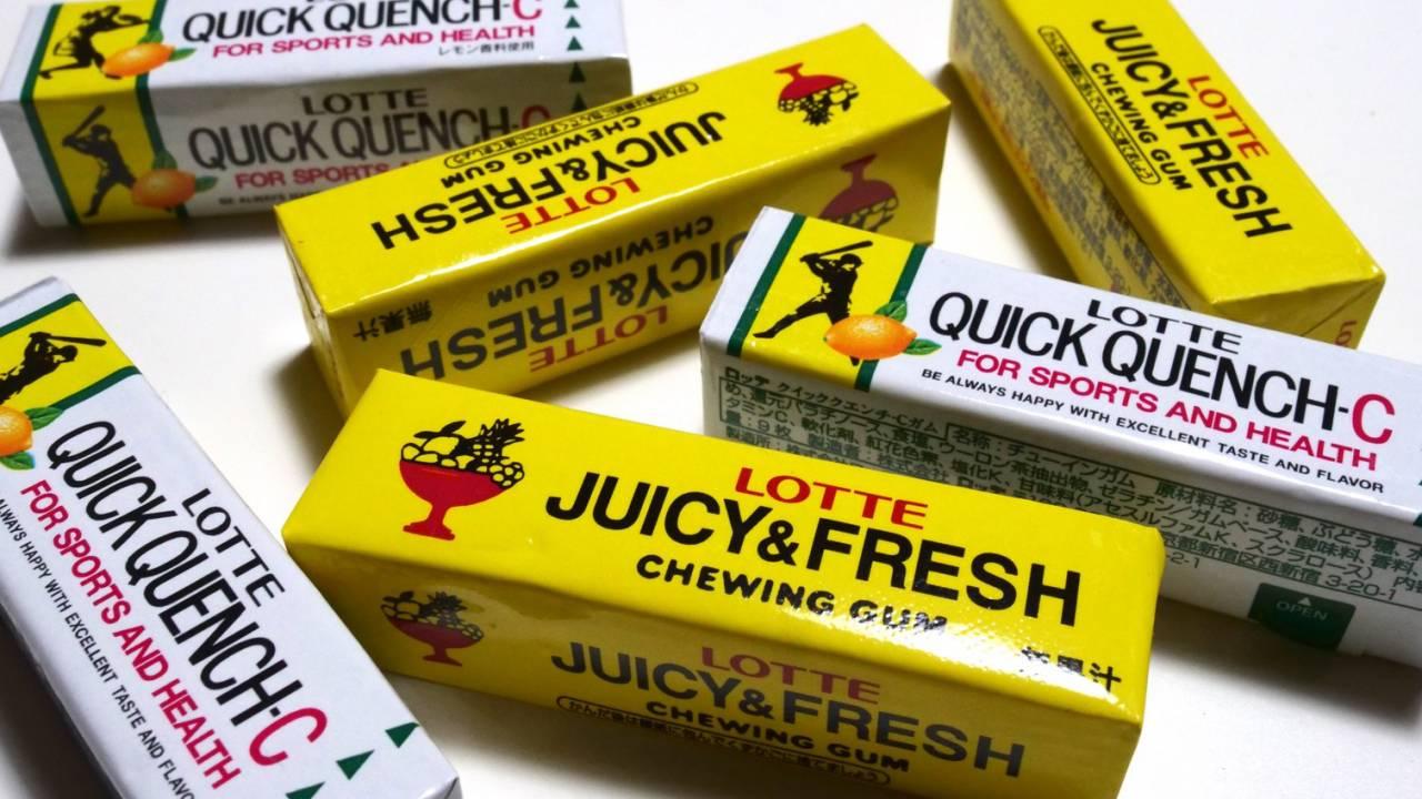 この味だ〜!復刻発売の「ジューシー&フレッシュガム」「クイッククエンチ」食べたら懐かしすぎて涙ホロリ