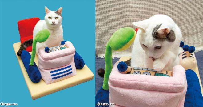 猫ちゃん・わんちゃんと時間旅行!ドラえもん50周年グッズ 「ペット用タイムマシンベッド」が可愛すぎ♡