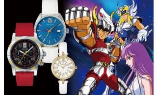 く〜懐かしい!「聖闘士星矢」のペガサス星矢、キグナス氷河、女神アテナをイメージした腕時計が発売