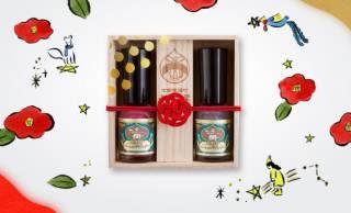 日本絵具の顔料を使った胡粉ネイルから玉椿、綺羅星がセットになった「胡粉ネイル – 冬の小箱 -」登場