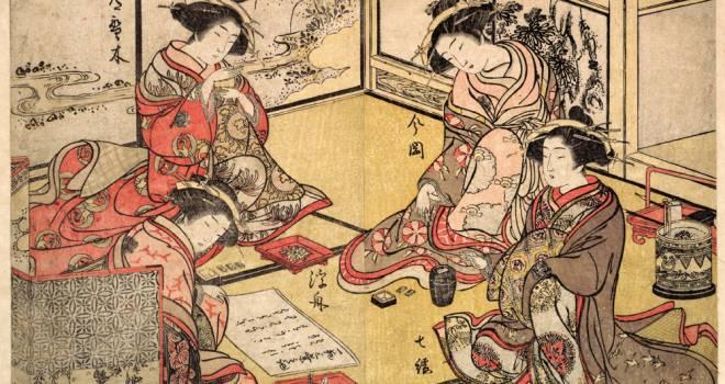 日本橋、遊郭、長屋…浮世絵で見る、江戸時代を生きる人々のタイムスケジュールはどうなっていた?【午後7時~午後9時頃】