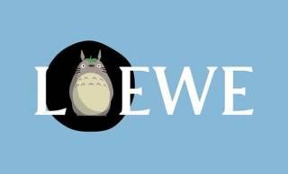 スペイン発の人気ブランド・ロエベがジブリ作品「となりのトトロ」とのコラボレーションを発表