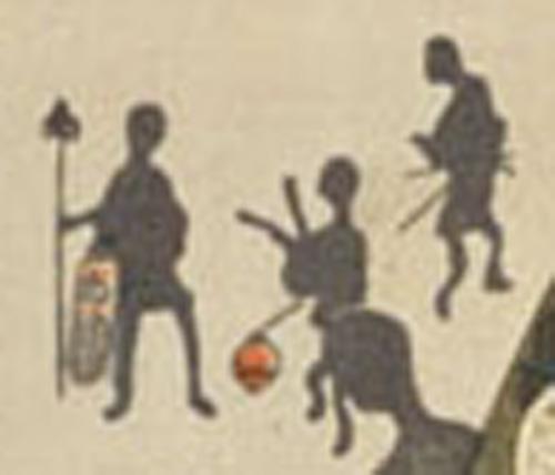 春夕美女の湯かえり(部分) 画:国周 国会図書館デジタルコレクション