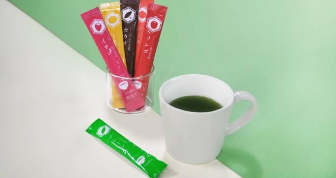 イチゴ、チョコなど全6種!宇治抹茶にフルーツなどの香りを加えたフレーバー抹茶「茶香織」新発売