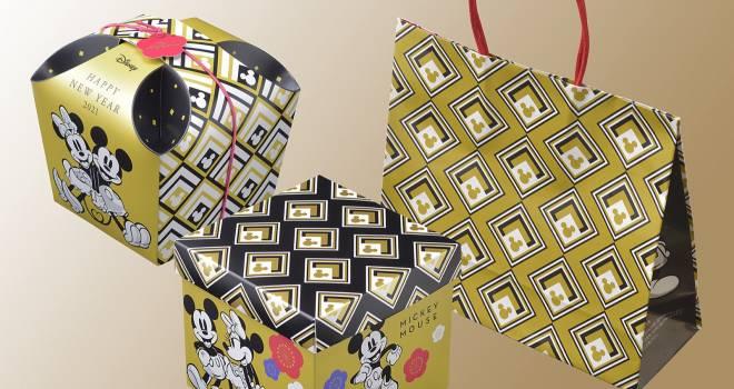 和モダンがテーマ。ディズニーデザインの新春限定スイーツギフトが銀座コージーコーナーで発売