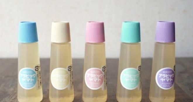 ロングセラー液状のり「アラビックヤマト」から可愛いパステルカラーが限定発売!