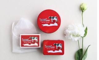 ロングセラー石けん「カウブランド 赤箱」の昭和3年懐かし赤箱デザイングッズが可愛い♡