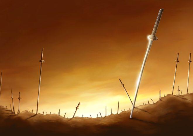 戦国の死のイメージ