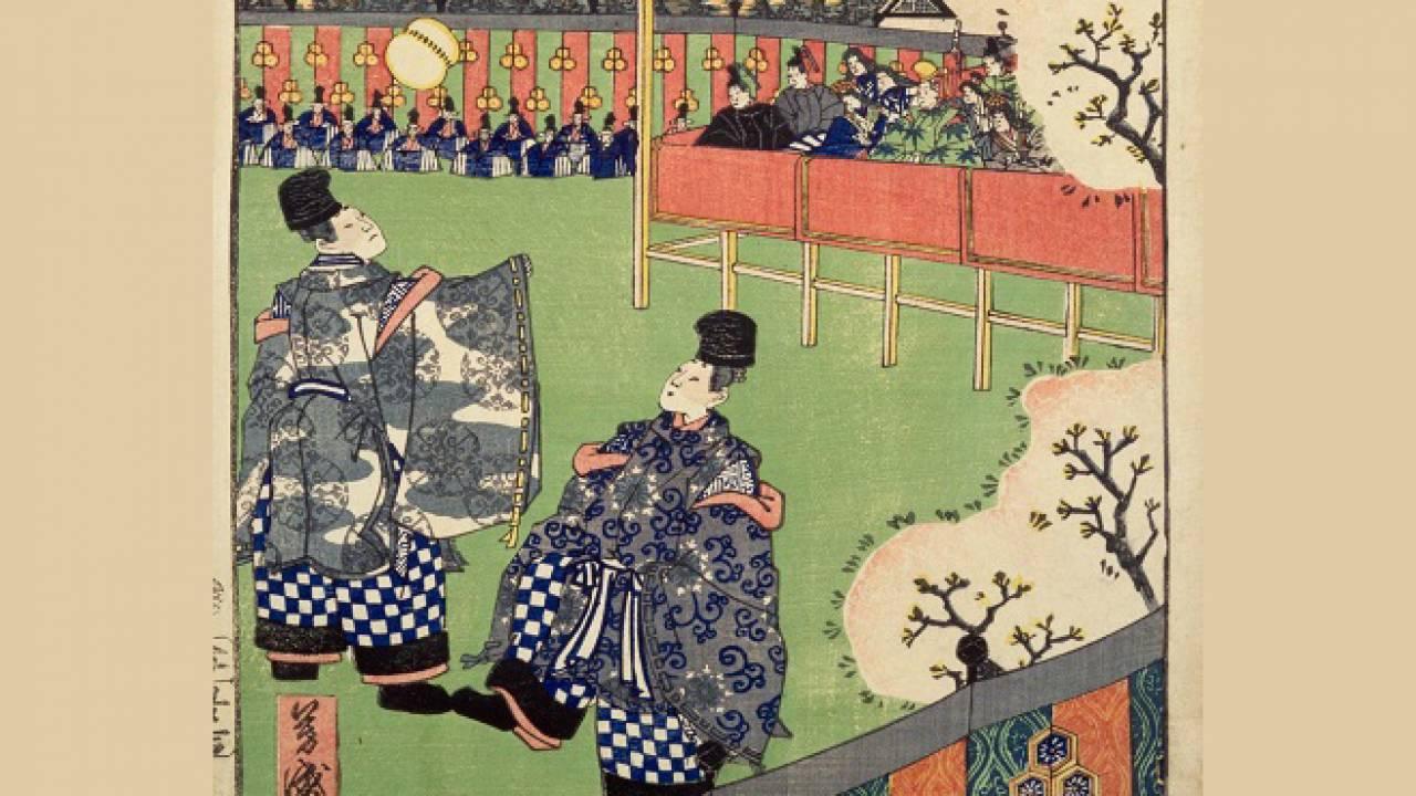 蹴鞠はただの遊びじゃなかった!伝統的なしきたりと儀式的側面も併せ持つ不思議なスポーツ