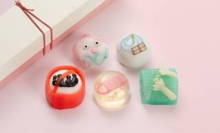 新型コロナ感染リスク回避策を彩り豊かな和菓子で表現した「五蜜」が新発売