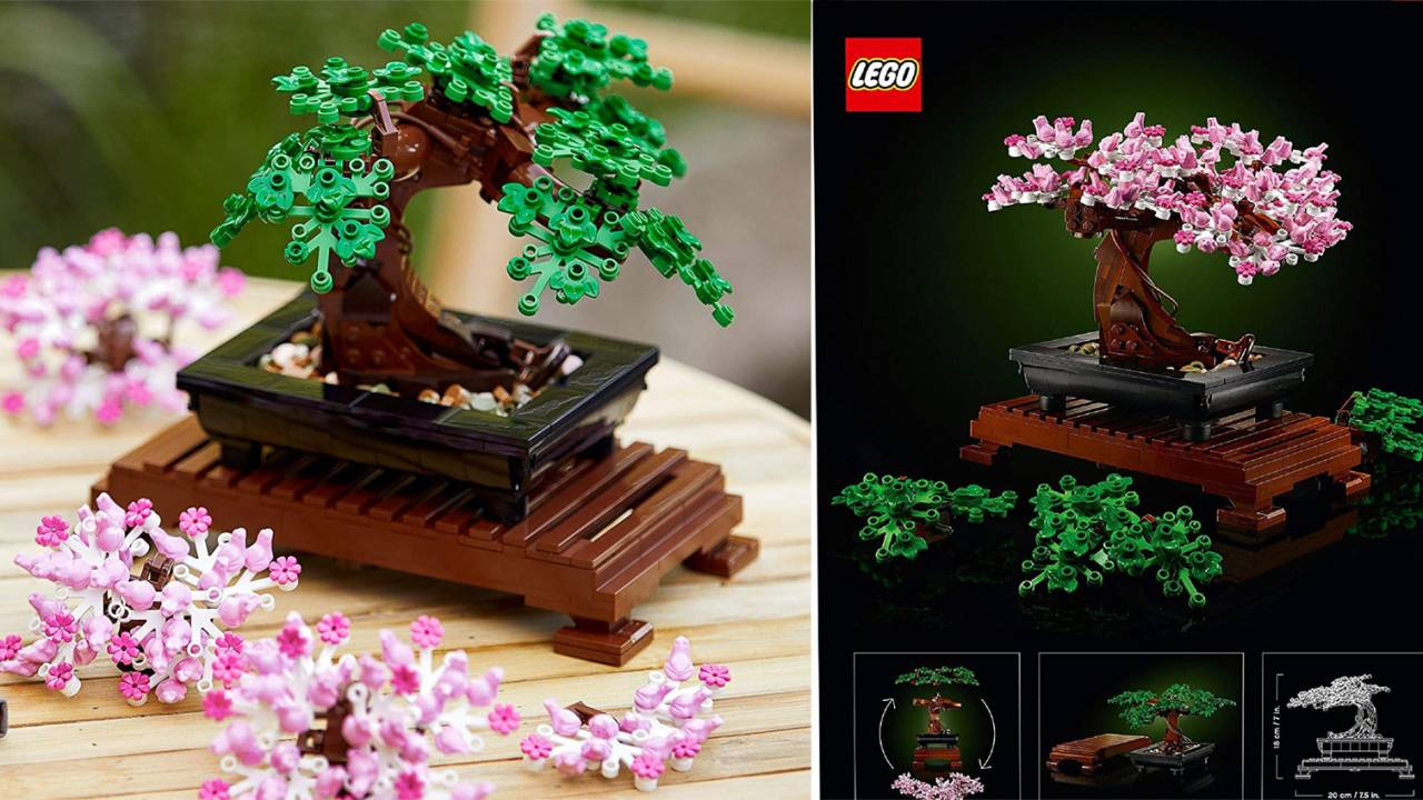 おうち時間にぴったりな大人向け「レゴ 盆栽」が新発売!常緑樹や桜の木が作れます