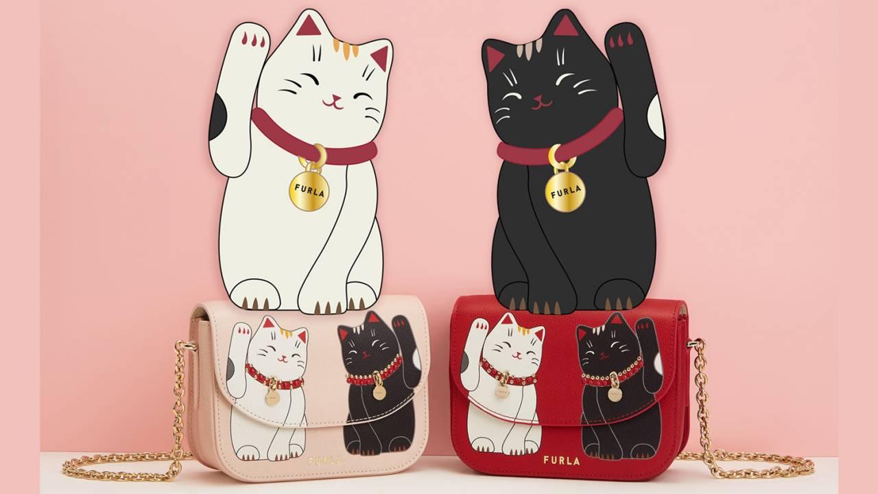 FURLAが招き猫からインスピレーションを得た「FURLA LITTLE CATS」コレクションを発表