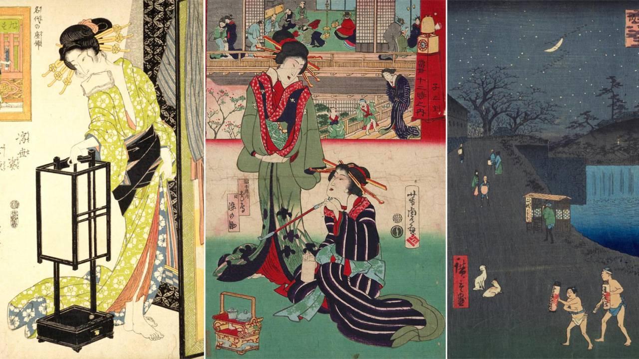 日本橋、遊郭、長屋…浮世絵で見る、江戸時代を生きる人々のタイムスケジュールはどうなっていた?【午後11時~午前1時頃】