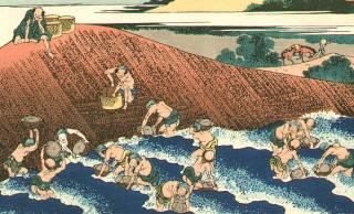 海辺の漂着物は誰のもの?オレのもの!中世日本の荒っぽい習慣「寄物」とは