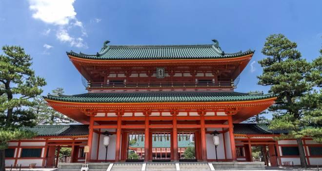 京都を代表する神社の1つ「平安神宮」実はかなり新しい神社だった!?