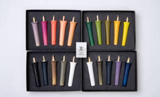 日本の季節ごとの自然を和の色彩で表現した和ろうそく「色ROUSOKU」が発売