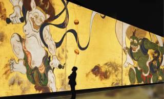 45m巨大スクリーンで日本美術の最高傑作を堪能!デジタルアート展「巨大映像で迫る五大絵師」が開催
