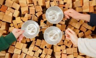 数量限定200個!白バラグッズに初のキャンプギア「白バラシェラカップ」が新発売