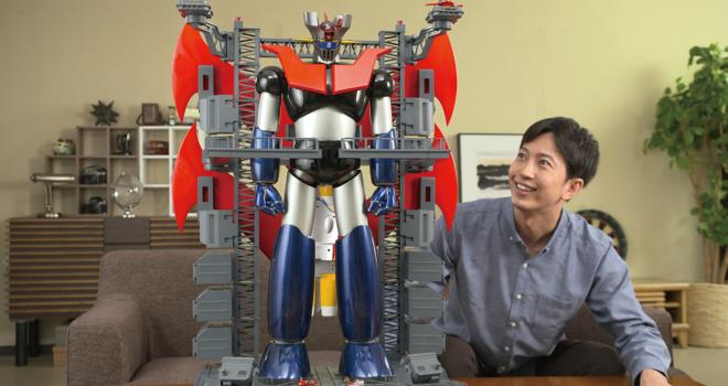 全高約75cm!鉄の城「マジンガーZ」の巨大メタル・ギミックモデルを作る週間シリーズが発売