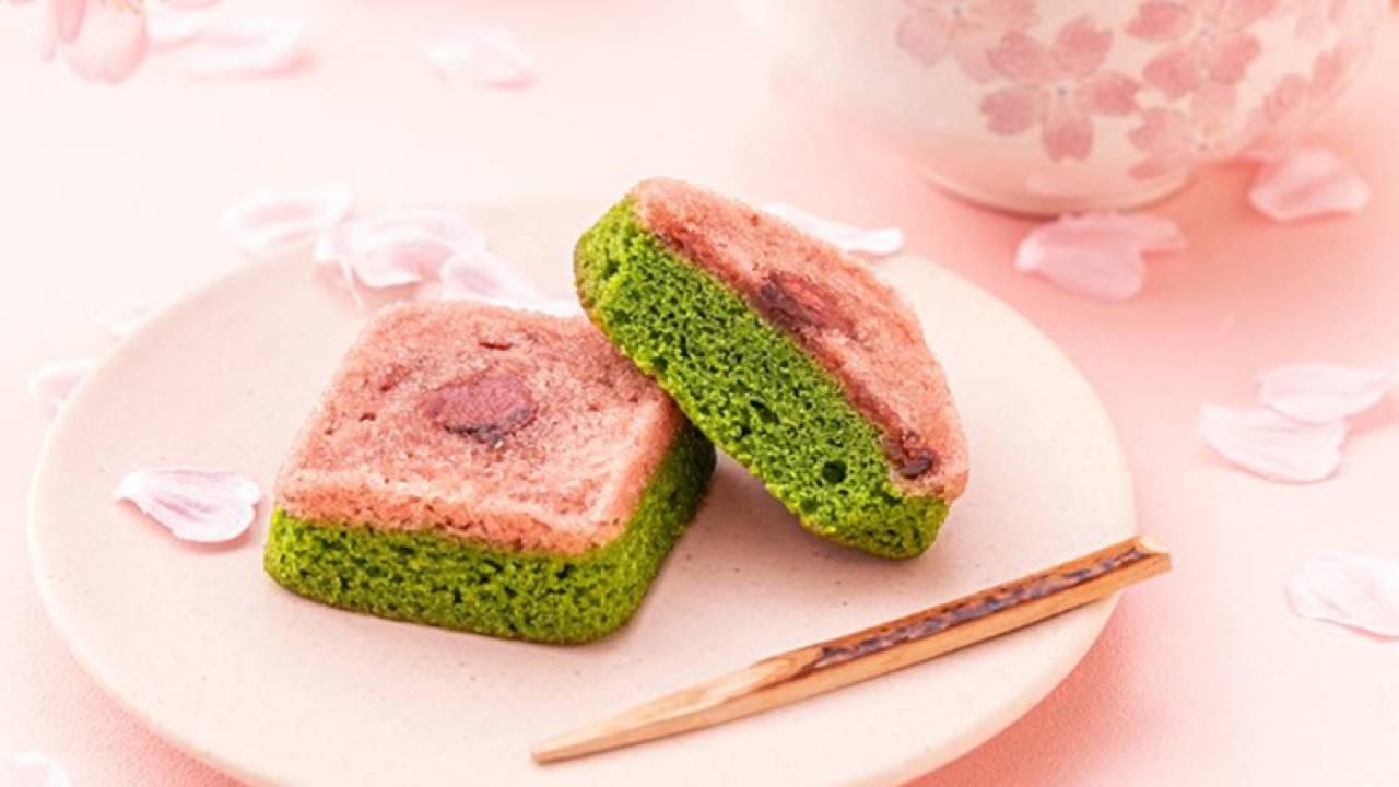桜と抹茶の彩りが美しい♡祇園辻利から春限定の「がとーぶぶ さくら抹茶フィナンシェ」が発売