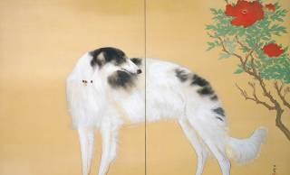 犬、猿、イタチ…近代の日本画家・橋本関雪の描く動物たちがふわふわでかわいすぎる!