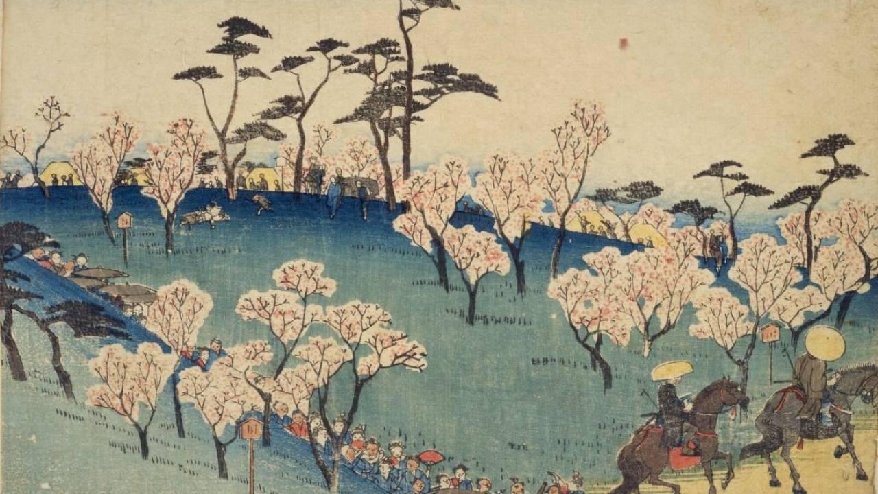 【浮世絵で見る】まもなく桜が開花!江戸時代から今も変わらないお花見スポットはどうやってできた?