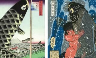 お部屋に飾れる「浮世絵の鯉のぼり」で初節句をお祝い!【PR】