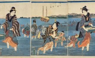 【浮世絵で見る】江戸っ子たちの春の人気レジャー潮干狩りは一日がかりの大イベント!