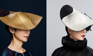 和とモダンの調和。伝統工芸・木目込みの技術を用いたハット「IWATSUKI-HAT」がステキ