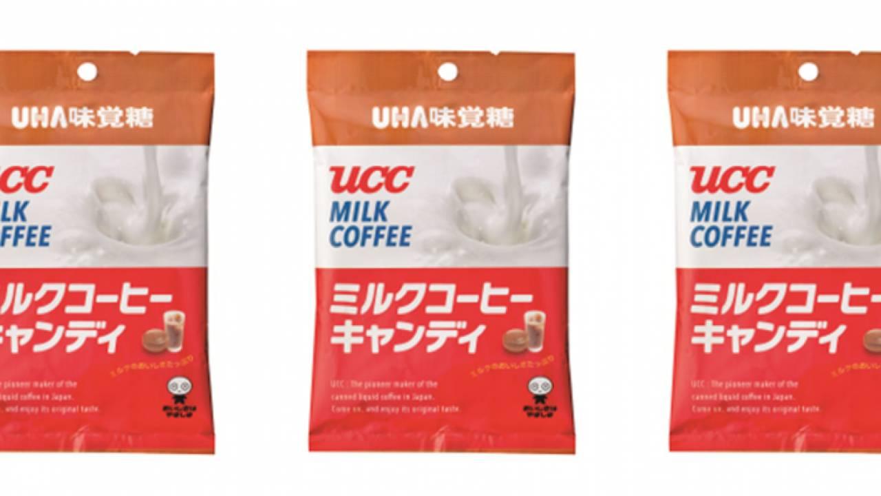 世界初の缶コーヒー『UCCミルクコーヒー』がキャンディになりました。あの味わいは飴にぴったりでしょ!