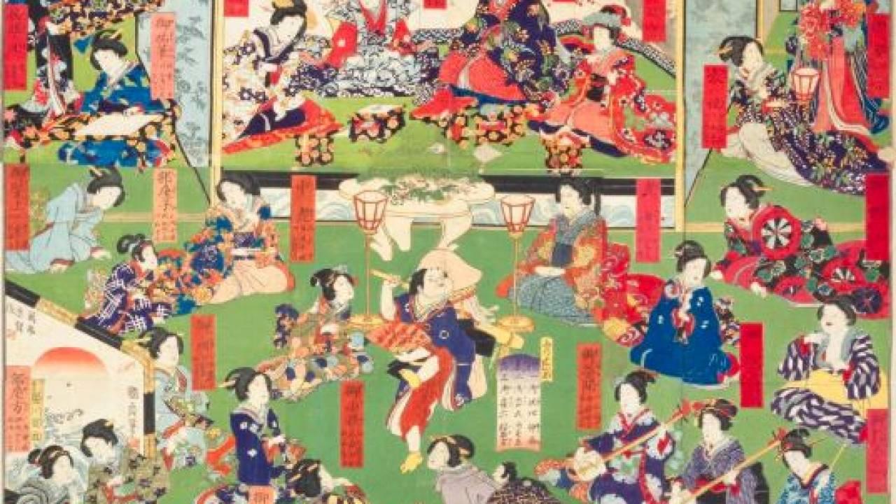 江戸時代、将軍の甘〜い夜の営みには監視の為もれなくリスナーがついてきた!?