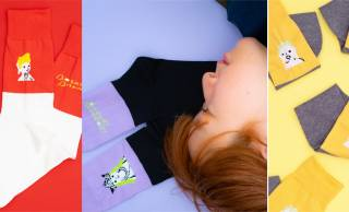 弥勒菩薩、如来、百済観音をイメージしたPOPで可愛い『仏像靴下』が新発売!
