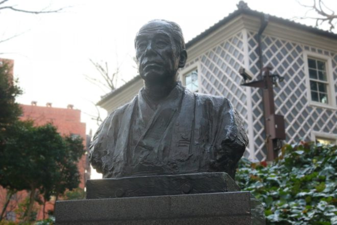 福沢諭吉の像