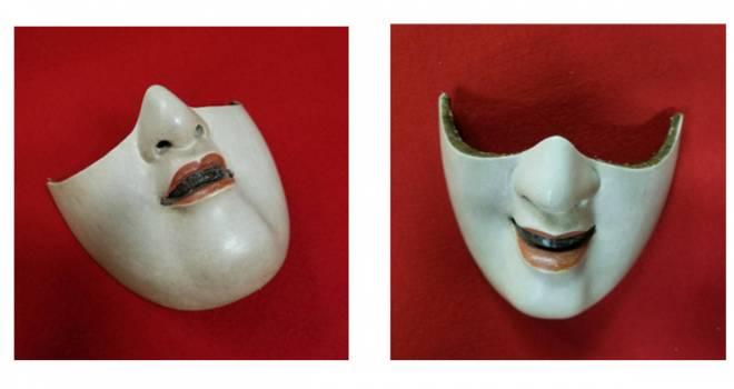 能面ハーフマスク、御簾フェイスシールド…京都の匠技で作った究極のマスクたちが攻めすぎてて震える!