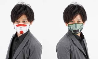 機動戦士ガンダムのモビルスーツ柄マスク「CHARA-MASK MESH」登場!冷感接触メッシュで快適