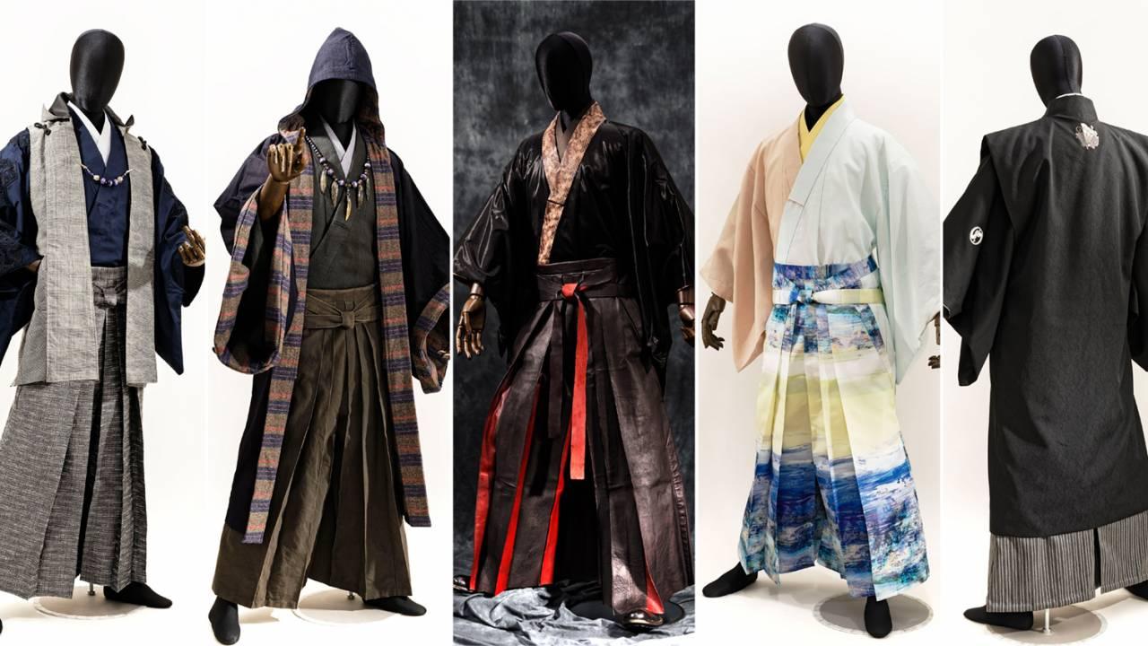 次世代型サムライ!男の着物「和次元 滴や」から2021年の春コレクションが発表