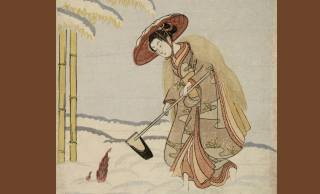 雪中で筍堀り?しかも裸足で?この浮世絵に隠された親子の愛情ストーリー