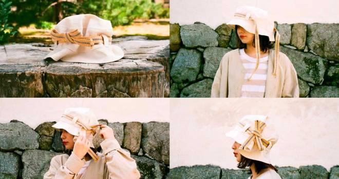 """日本の""""結び文化""""と真田紐の使い心地を体感できる帽子&スニーカーが登場"""