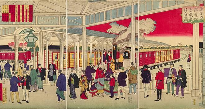 渋沢栄一記念財団が、日本近代化の様子がわかる「実業史錦絵」をオンラインで多数公開中