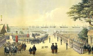 幕末、ペリー提督が率いる黒船来航の裏側。強姦、発砲、略奪、条約締結の裏で起きた真実