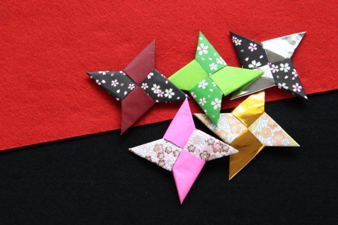 折り紙の手裏剣