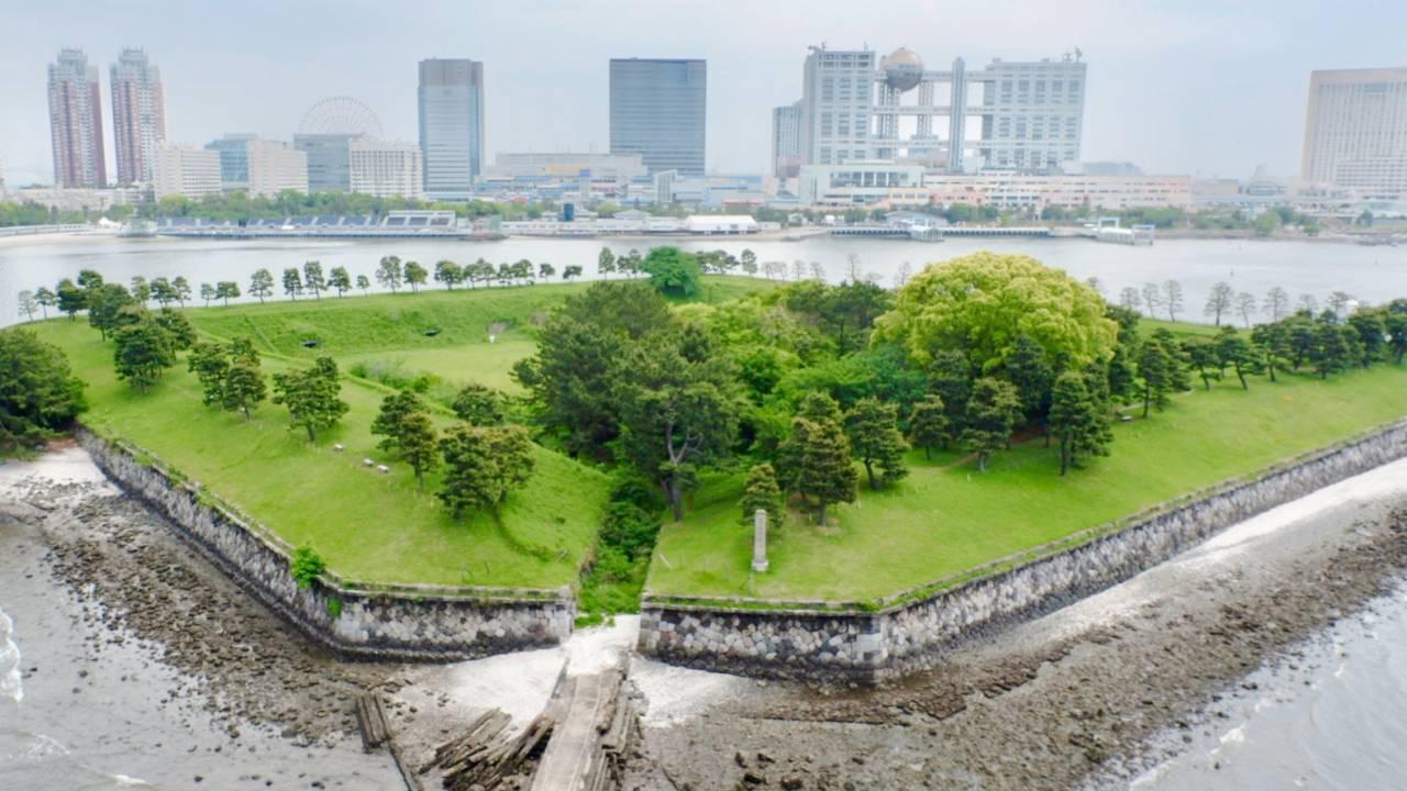 7基の台場は今どこに?幕末、江戸防衛のために建設された海上要塞「品川台場」の過去と今