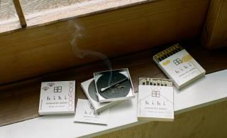 マッチのように擦って火をつけるお香「hibi」に、「ゆず」が「和の香り」シリーズに追加